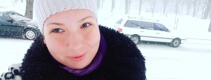 """Зупинка """"бульвар Академіка Вернадського"""" is one of สถานที่ที่ Ilona ถูกใจ."""