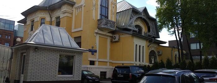 Особняк И.Л. Динга is one of 100 примечательных зданий Москвы.