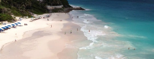 Crane Beach is one of Barbados.