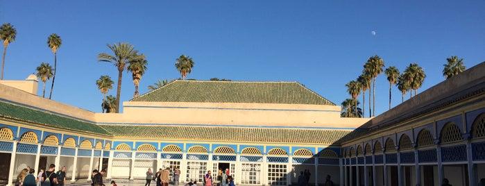 Palais Bahia is one of Lieux qui ont plu à Emre.