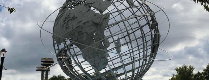 The Unisphere is one of Lieux qui ont plu à Karen.