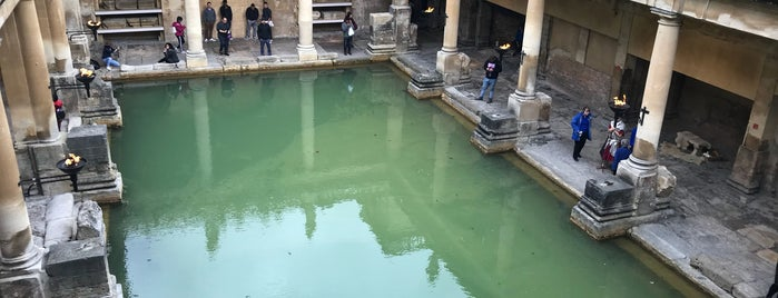 The Roman Baths is one of Locais curtidos por Karen.