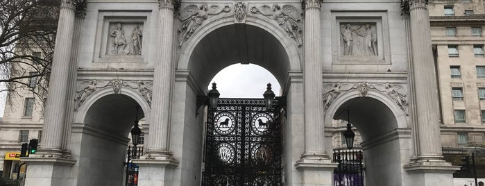 Marble Arch is one of Locais curtidos por Karen.