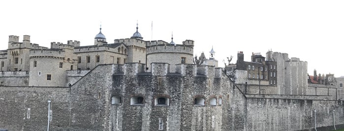 Tower of London is one of London.