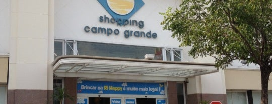 Shopping Campo Grande is one of Locais curtidos por Murilo.