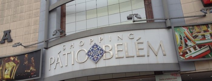 Shopping Pátio Belém is one of Shoppings Norte Brasil.