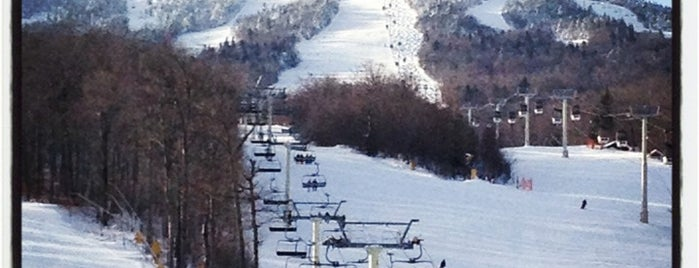 Stratton Mountain Resort is one of Locais curtidos por Emily.