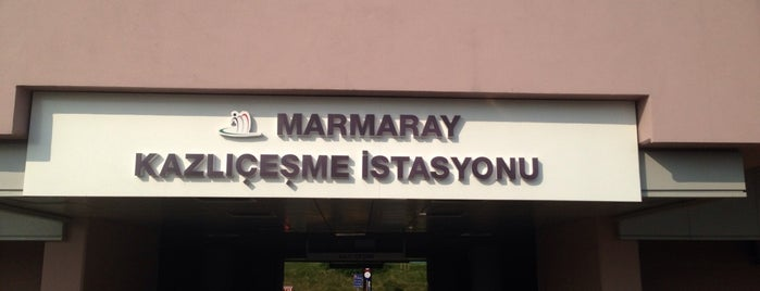 Kazlıçeşme Marmaray İETT Merkez Durakları is one of Posti salvati di Derya.