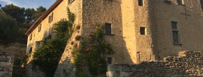 Abbaye de Saint-Hilaire is one of Tempat yang Disukai Andreas.