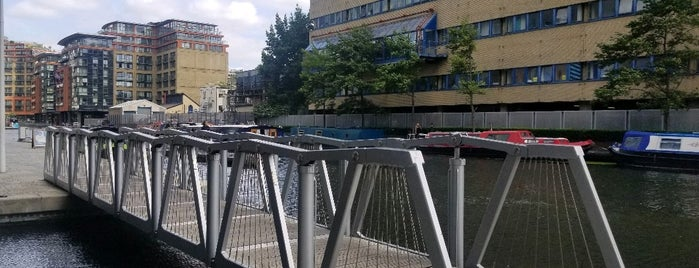 Rolling Bridge is one of London been there 🇬🇧.