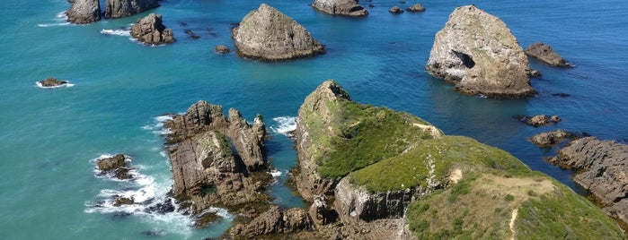 Nugget Point Lighthouse is one of Nuova Zelanda.