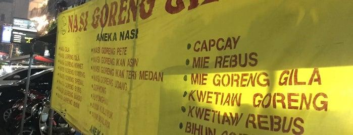 Nasi Goreng Gila Sabang is one of 1 day grand indo, thamrin.