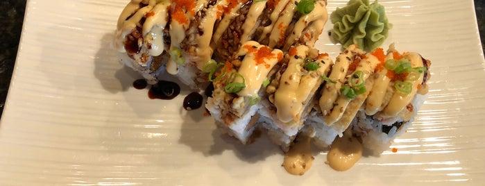 Samurai Sushi is one of AK.