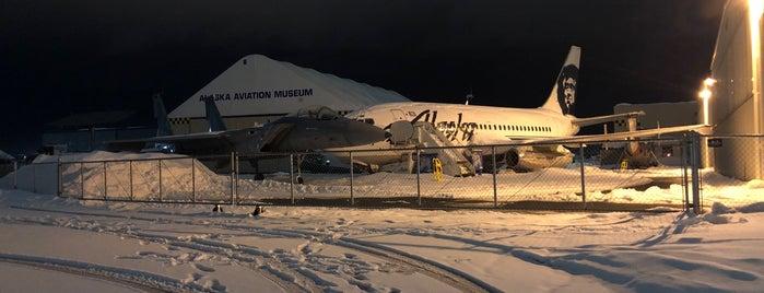 Alaska Aviation Museum is one of สถานที่ที่ Cori ถูกใจ.