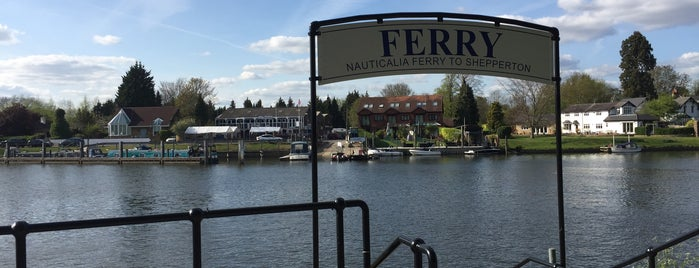 Shepperton to Weybridge Ferry is one of Tired of London, Tired of Life (Jul-Dec).