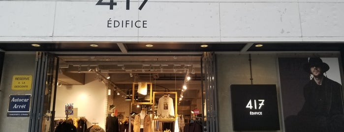 417 EDIFICE is one of Tokyo.
