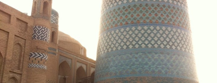 Old Khiva is one of Lugares favoritos de Yanina.