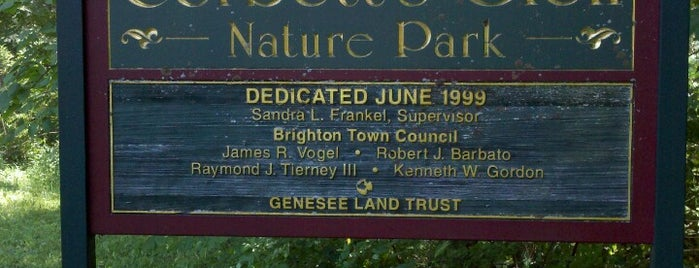 Corbett's Glen Nature Park is one of Take zucchini.