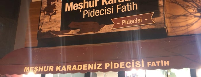 Fatih Karadeniz Pidecisi İbrahim Usta is one of Must-visit Restaurants in İstanbul.