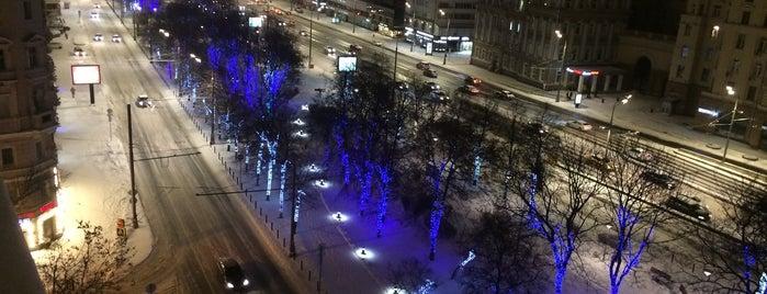 Садово-Триумфальный сквер is one of Posti che sono piaciuti a Jano.
