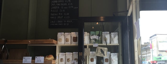 Blackbird Bakery is one of London.