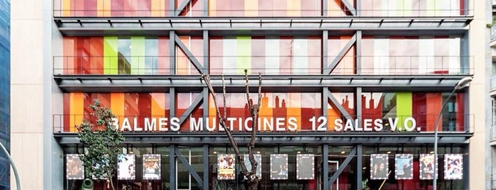 Balmes Multicines is one of Locais curtidos por jordi.