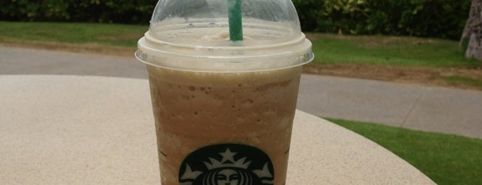Starbucks is one of Maui.