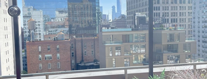 The Ready Rooftop Bar is one of NYC bars.