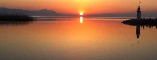 İznik Gölü is one of bursa.