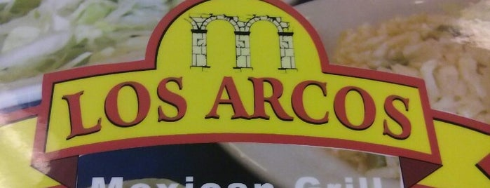 Los Arcos Mexican Grill is one of Gespeicherte Orte von Kathryn.