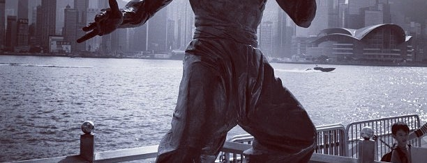Bruce Lee Statue is one of Hong Kong.