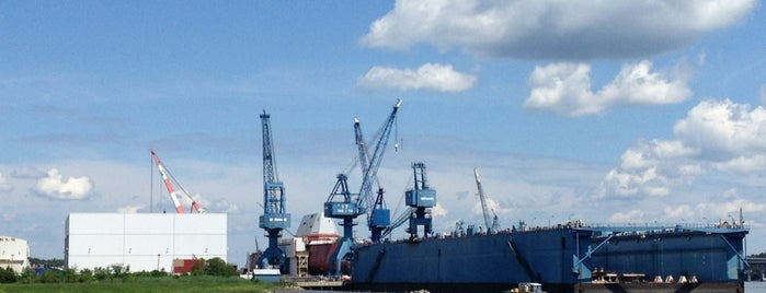 Bath Iron Works is one of Maine.