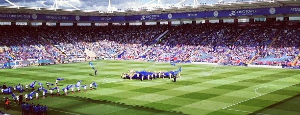King Power Stadium is one of Posti che sono piaciuti a Carl.