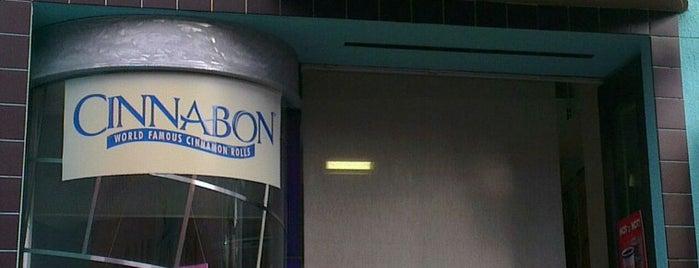 Cinnabon is one of San Diego.