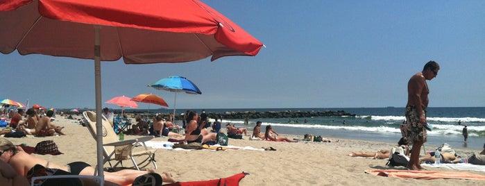 Far Rockaway Beach - 81st Street is one of Tempat yang Disukai Jackson.