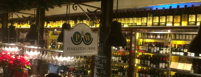 Pinkleton & Wine is one of Orte, die Katie gefallen.
