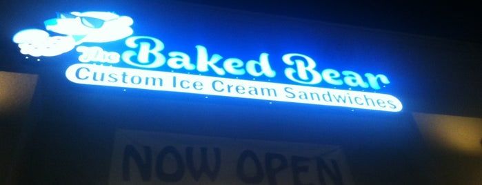 The Baked Bear is one of San Diego.