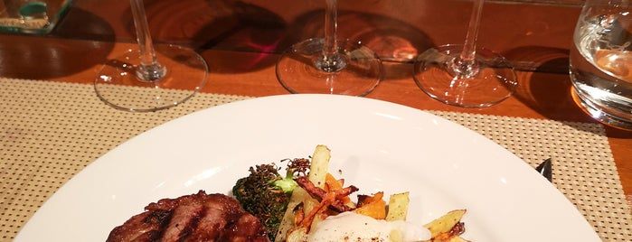La Vid Restaurant - Bodega Norton is one of Amex Mag.
