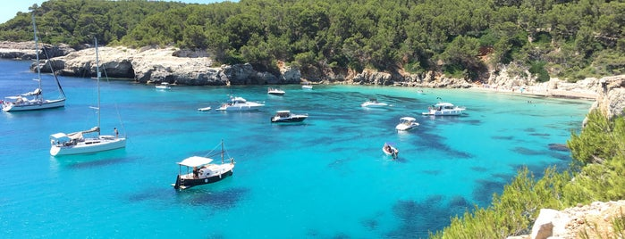 Cala Escorxada is one of Menorca calas.