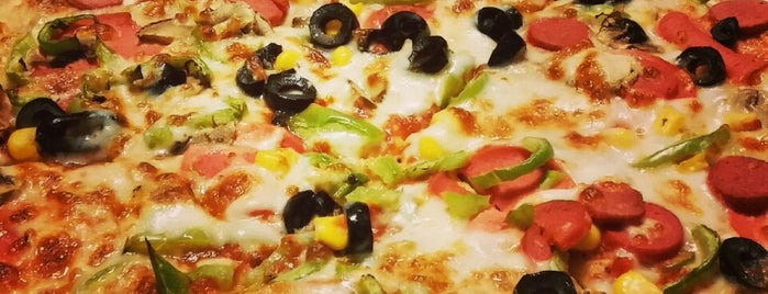 Little Caesars Pizza is one of Dikilitaş.
