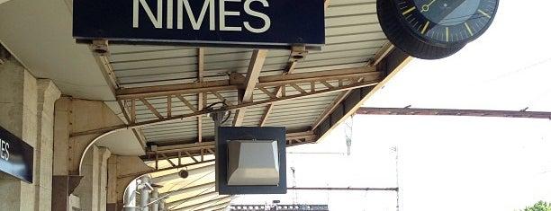 Gare SNCF de Nîmes is one of Tempat yang Disukai Yo.