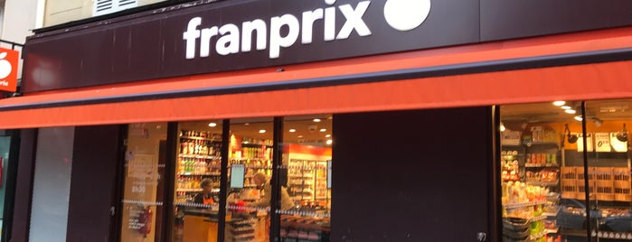Franprix is one of Paris da Clau.