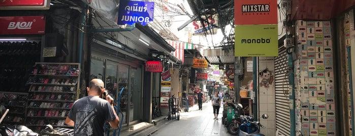 Sampeng Lane is one of Bangkok Chinatown.
