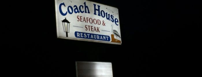 Coach House Seafood & Steak is one of North Carolina.
