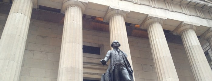 Federal Hall National Memorial is one of Manhattan Favorites.