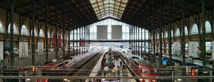 Северный вокзал is one of 🌠.