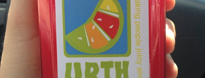 Urth Juice Bar is one of To-Do SA.