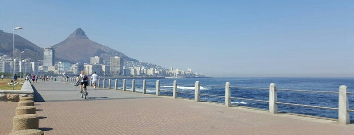 Mouille Point Promenade is one of South Africa.