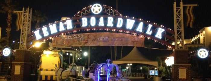 Kemah Boardwalk is one of Texas Places to Try.