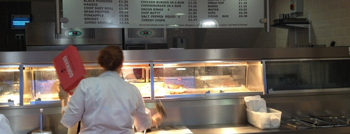 Gormans Fish and Chips is one of Lugares guardados de Daz.